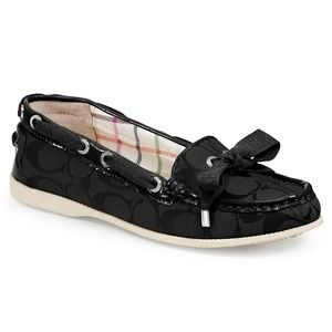 Coach Carisa Boat Shoes